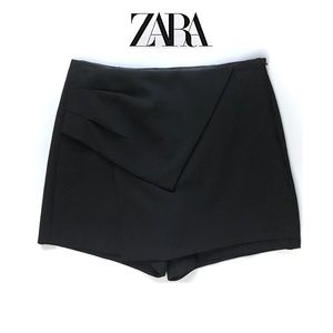 ZARA BASIC - Asymmetrical Layered Envelope Skort